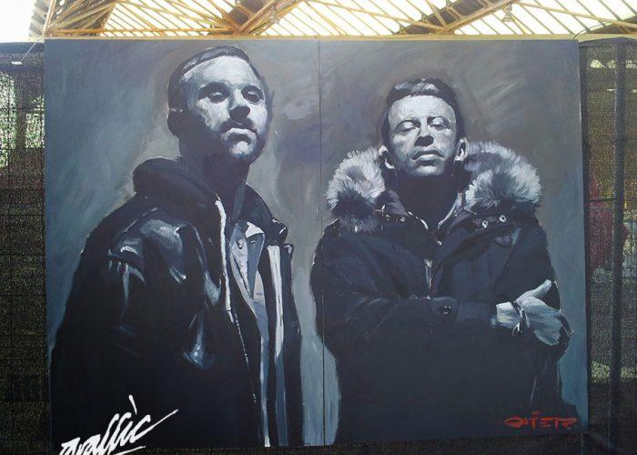 Cruilla Barcelona Macklemore Graffiti Mural cuadro