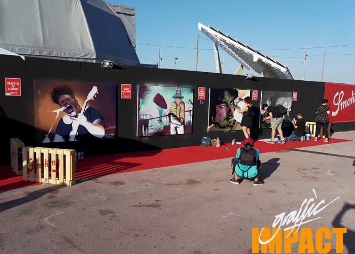 Cruilla Barcelona Cuadros Graffiti Mural Arte